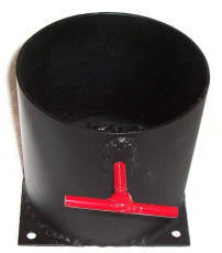 Single B-Tank Holder for Vehicle